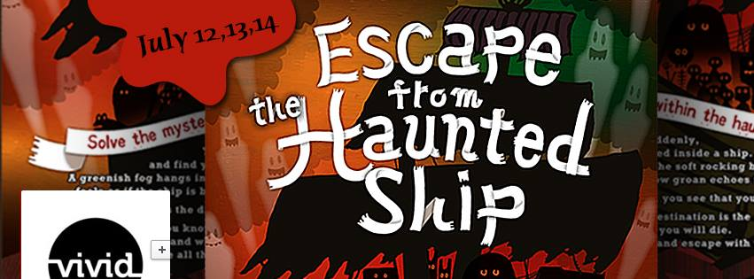 Escape from the haunted ship