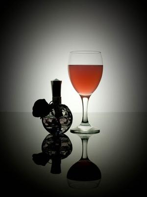 wine and perfume